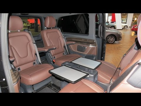 2015 Mercedes Benz V 250 Bluetec