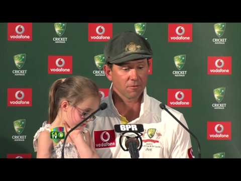 Ricky Ponting press conference - Dec 3rd