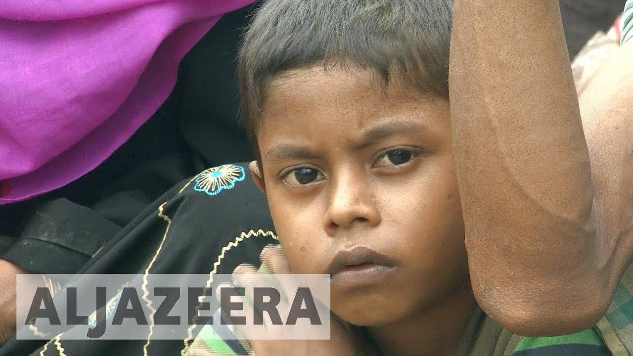 No food and shelter for Rohingya crossing into Bangladesh
