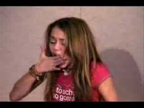 Miley Cyrus's Audition for Hannah Montana (extended)