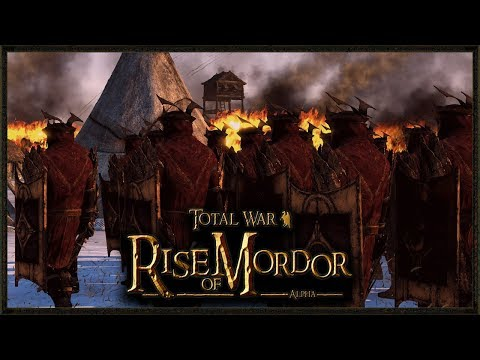 The Siege Of Hardhome (LOTR) - Rise Of Mordor Total War gameplay