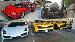 INSANE Lamborghini Gold Mine FOUND! (wtf)