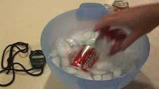 Jak szybko schłodzić puszkę coli
