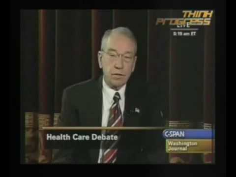 Sen. Grassley Talks About Tit Sucking Video