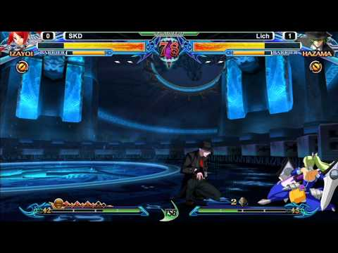 Blazblue: Chrono Phantasma  Tgitsb #2 - Skd (ragna izayoi) Vs Lich (hazama relius) video