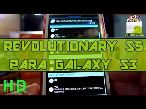 ROM REVOLUTIONARY S5 V2 PARA SAMSUNG GALAXY S3 I9300