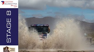 TATRA BUGGYRA RACING on DAKAR 2017 - Stage 8