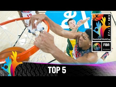 Top 5 Plays 11 September 2014 FIBA Basketball World Cup