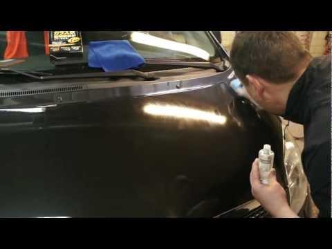 Как нанести жидкое стекло на авто