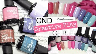 CND™ Creative Play™  Gel Polish ♥ Beautynailsfun.nl