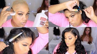 VERY DETAILED Lace Frontal Wig Install | Stocking Cap Method | Cutting The Lace | Ineffable Tresses