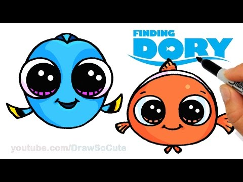 Finding Nemo Dory Drawing