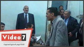 رئيس جامعة الأزهر فى جولة مفاجئة لامتحانات كلية الشريعة والقانون بالدراسة