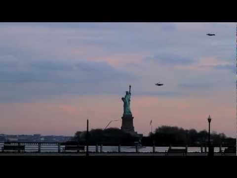 Thumbnail of video Flying People in New York City