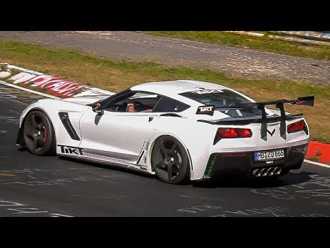 NГrburgring American Cars Special Compilation 2018  Bonus Crash  Best of USA Cars Nordschleife!