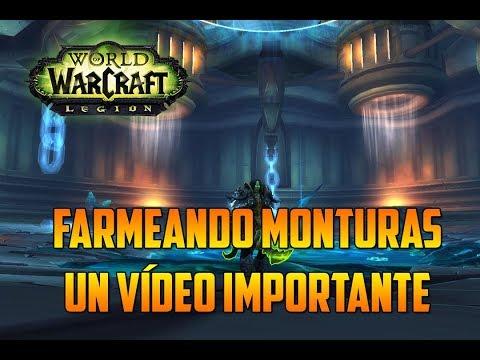 WORLD OF WARCRAFT : LEGION | FARMEANDO MONTURAS en ULDUAR - UN VÍDEO IMPORTANTE