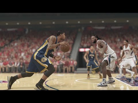 NBA 2K14 (PS4): Atlanta Hawks vs Indiana Pacers Round 1 - Game 3 Sim