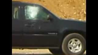 Livetest on presidential armored SUV armored by MSCA Part5
