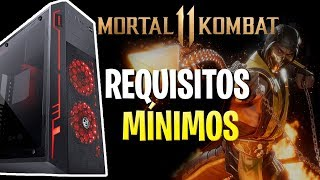 MORTAL KOMBAT 11 - REQUISITOS MÍNIMOS, PS4, XBOX E 4k !!