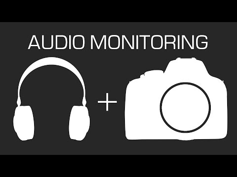 How do I connect the headphones to the Canon camera