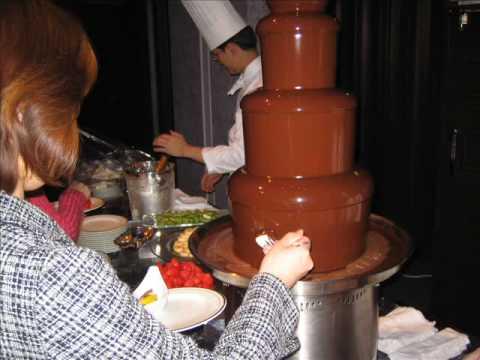 チョコレートフォンデュ Chocolate Fondue