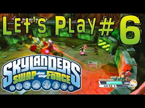 Let's Play Swap Force #6 - Chap 4/5 Rampant Ruins & Jungle Rumble
