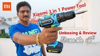 Xiaomi Mi 3 in 1 Power Tool Unboxing & Review in Telugu...