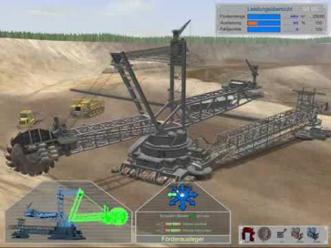 Bagger-Simulator 2008 Tagebau (HighQuality)