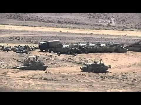 World War 3 : U.S. led ground invasion exercises taking place on Syrian border (Jun 20, 2013)