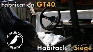 Fabrication d'une GT40 - Des sièges sur-mesure pour la GT40 ! [GT40 project #16]