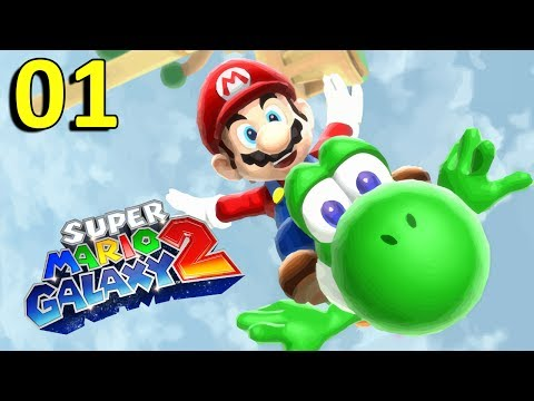 Mario Galaxy 2 : Bowser le Pirate | 01 - Let's Play