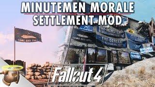 Minutemen Morale Pack | FALLOUT 4 SETTLEMENT MOD | PC & Xbox One