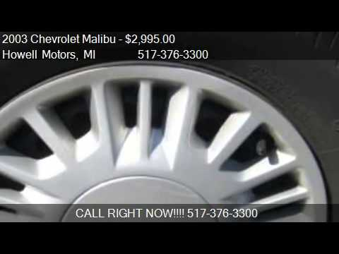 2003 Chevrolet Malibu LS - for sale in Howell, MI 48843