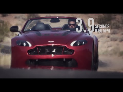 Aston Martin V12 Vantage S Roadster official film