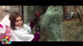 Những đứa trẻ vui nhộn trong sở thú