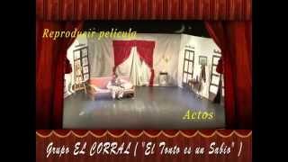 Teatro-El tonto es un sabio (entradilla)-El Corral-2012