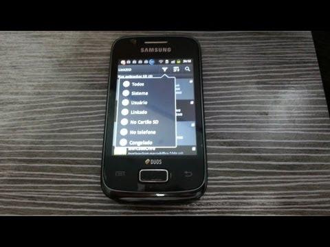 Galaxy Y - Instalando Apps no cartão de memória
