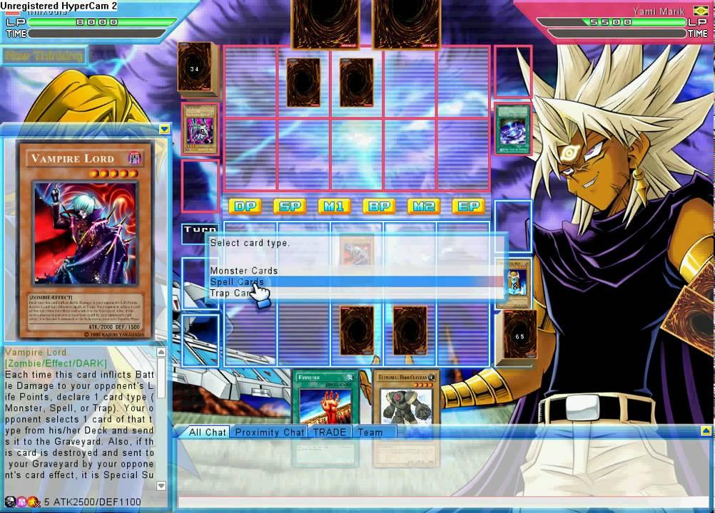 yugioh online duel evolution vs yami marik - YouTube