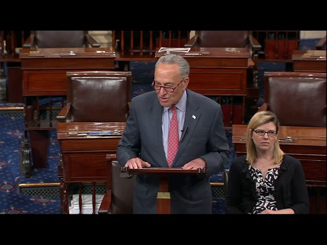 Schumer Wants Hearings on Trump-Putin Meeting
