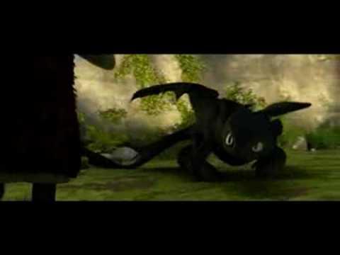 Como entrenar a tu dragon - Trailer español