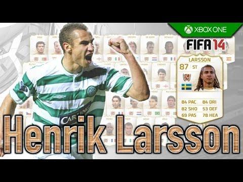 FIFA 14 | Legend Review | Henrik Larsson !