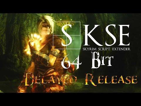 SKSE 64 Bit Delayed Release Update - Skyrim Special Edition Script Extender Delayed Release?