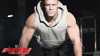 John Cena returns to Raw next Monday night