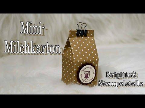 Mini Milchkarton