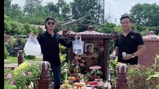 Minh Luân đến thăm м,,ộ Anh Vũ, nghẹn ngào nhớ kỉ niệm cùng cố nghệ sĩ