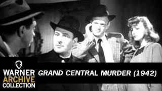 Grand Central Murder (1942) - Official Trailer
