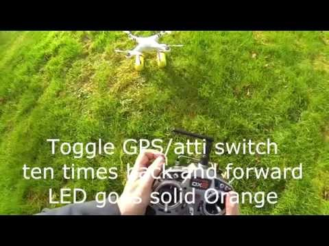 Quicktip DJI Phantom or Naza V2 or Lite Compass Calibration in 39 seconds QUICK AND EASY
