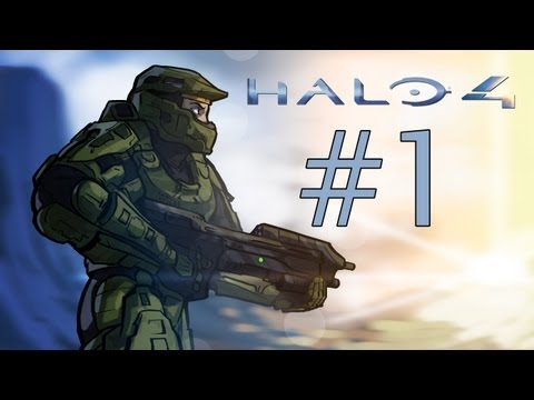 Halo 4: The IWHBYD Chronicles - Halo 4 Co-op Gameplay / Walkthrough w/ SSoHPKC + ClashJTM Part 1 - The Greatest Adventure Ever