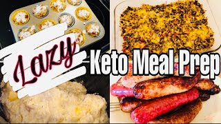 Keto Meal Prep For the Week | Lazy Easy Keto | Low Carb Friendly | 7/2/20