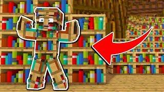 GÖRÜNMEZ KİTAP OLDUM! - Minecraft SAKLAMBAÇ